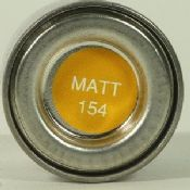 Humbrol 0154 Matt Insignia Yellow